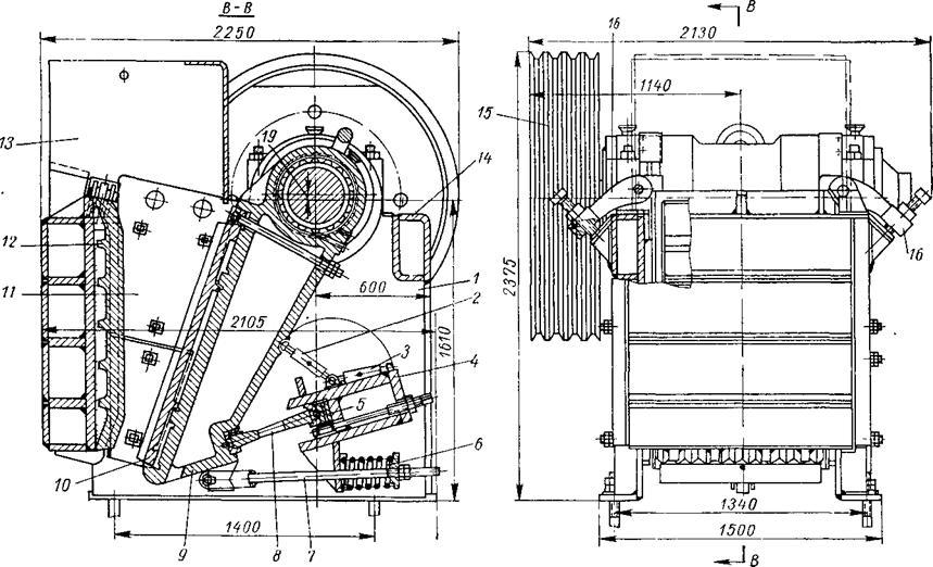 Дробилка с-887 щековая цена руб дробилка смд 116 в Стерлитамак